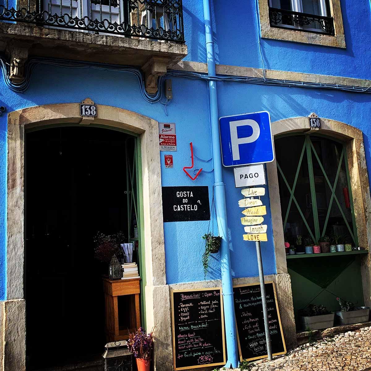 Colorful Alfama shop