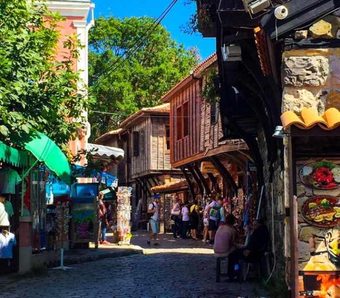 A hidden gem in Europe—Sozopol, Bulgaria.