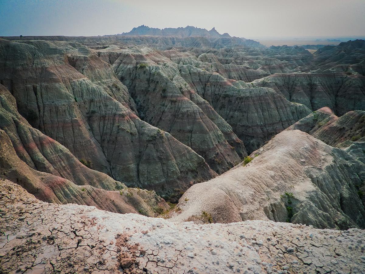 Badlands canyon