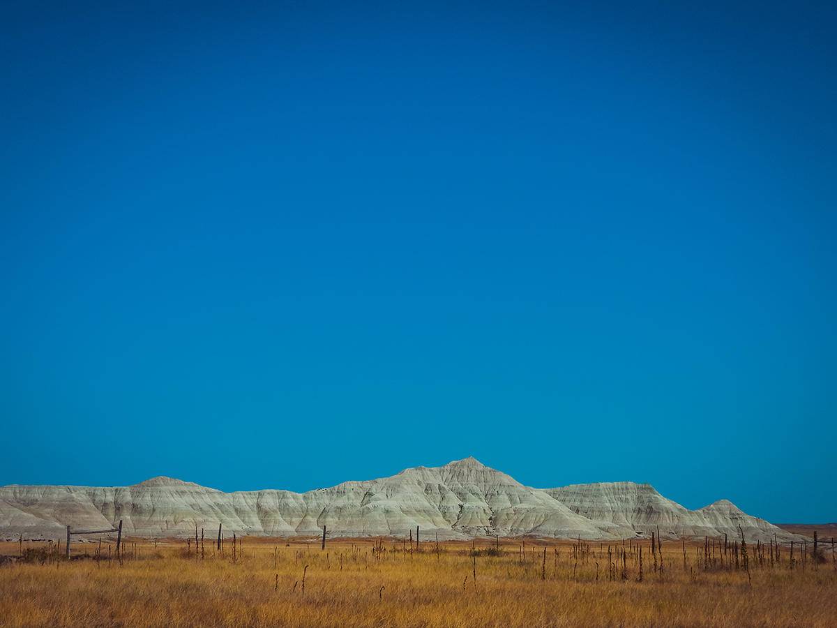 Prairie landscape while road-tripping Nebraska