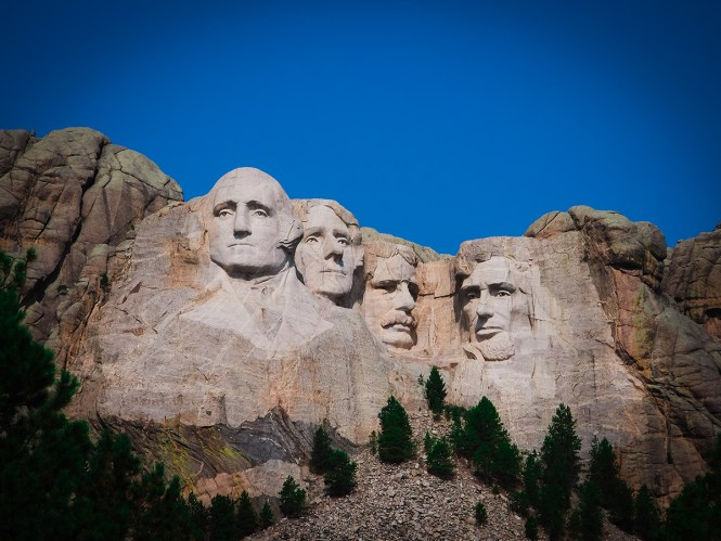 One of the biggest things to do in South Dakota? Visit Mount Rushmore.