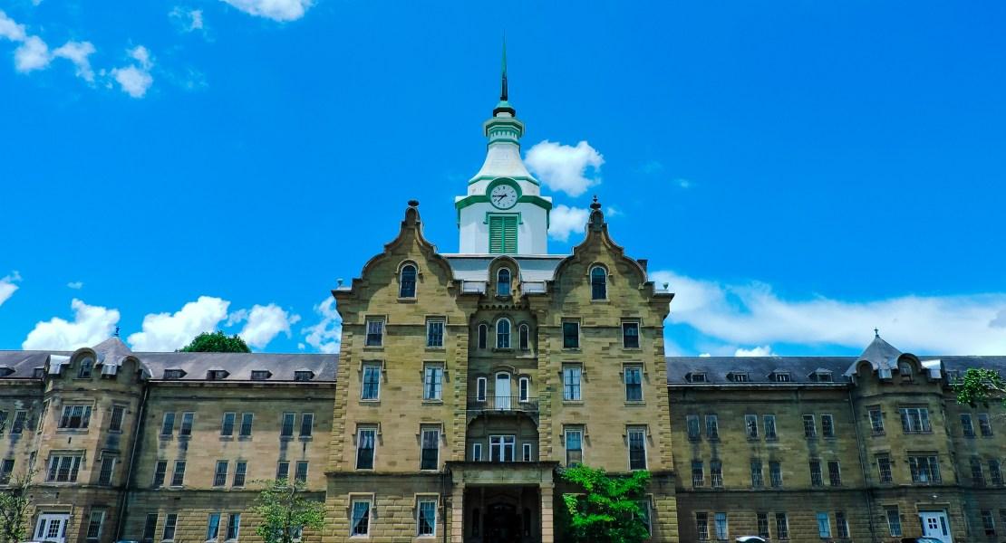 Trans-Allegheny Lunatic Asylum main building