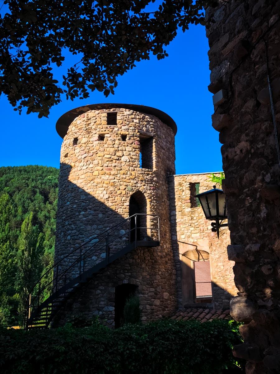 Turret in Baga, Spain
