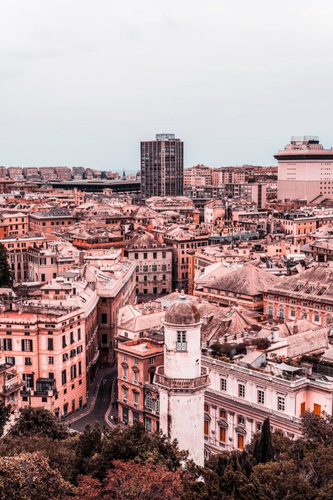 A view of Genoa, Italy