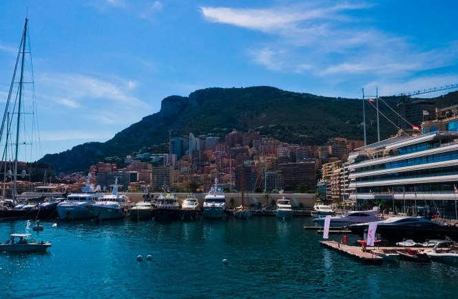 Waterfront in Monaco