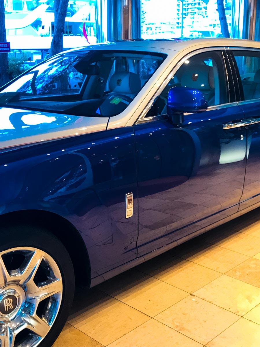 Rolls Royce in Monaco