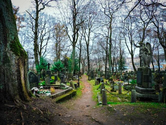 Bernadine Cemetery in Uzupis, Vilnius