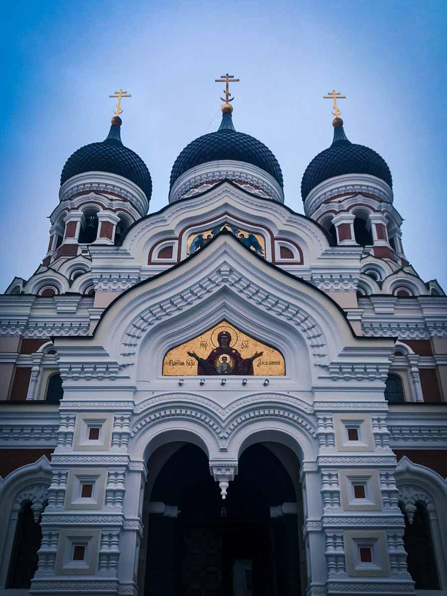 Holy Trinity Orthodox Church in Riga