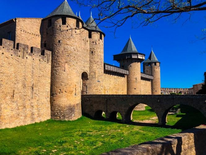 Castle in Carcassonne, France