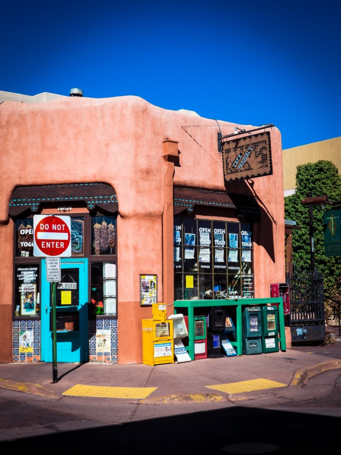Cafe Pasqual's in Santa Fe