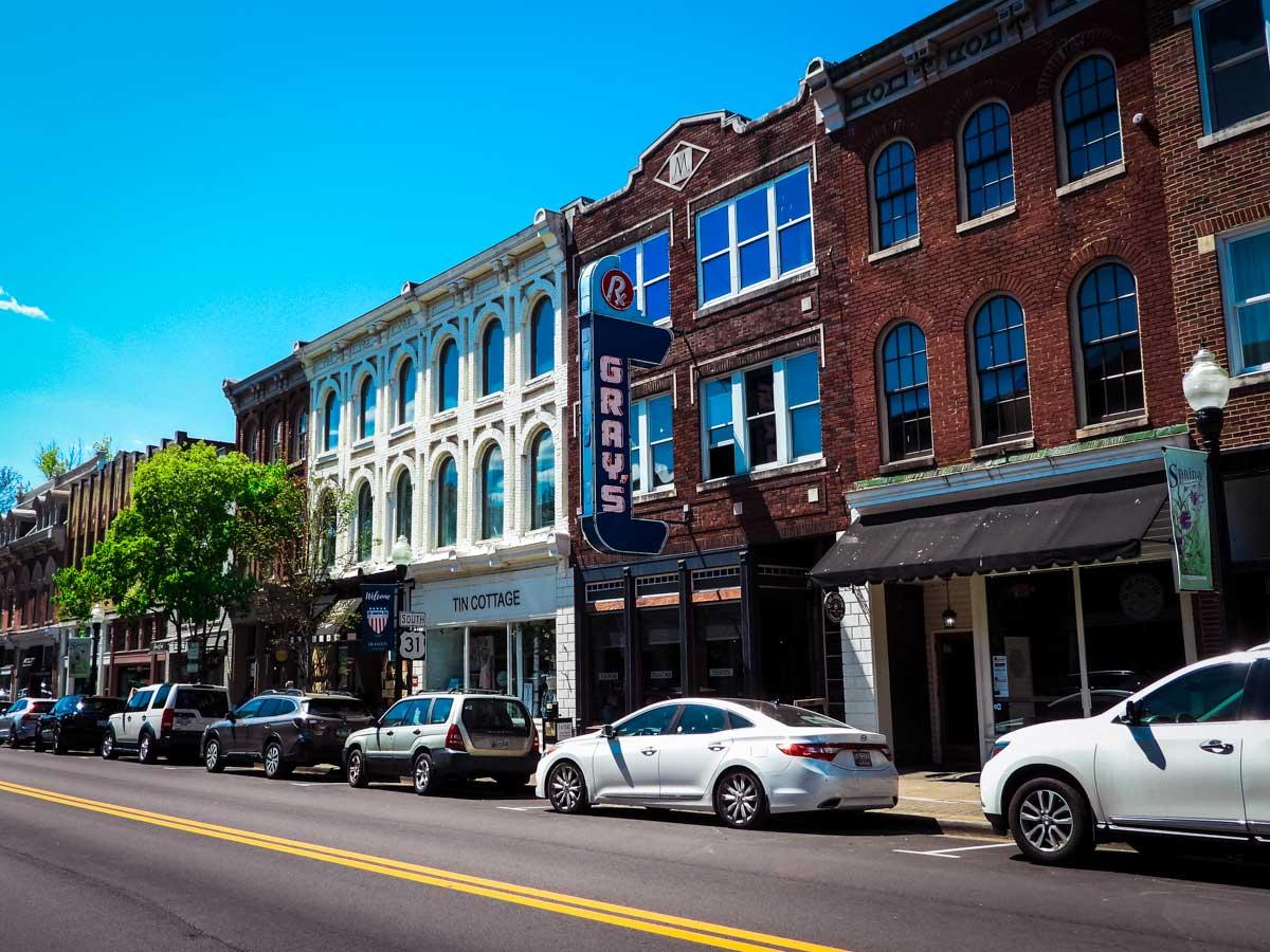 Franklin, TN Main Street