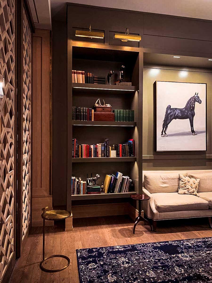 Franklin TN Harpeth Hotel reading room