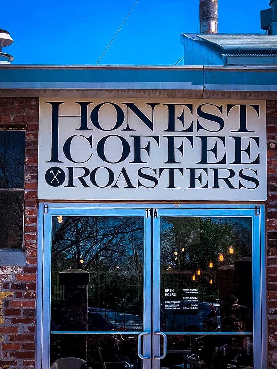 Honest Coffee Roasters entrance