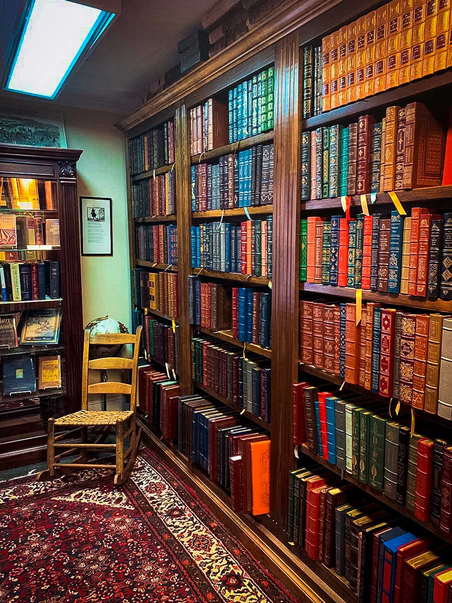 Old books in Landmark Booksellers, Franklin, TN