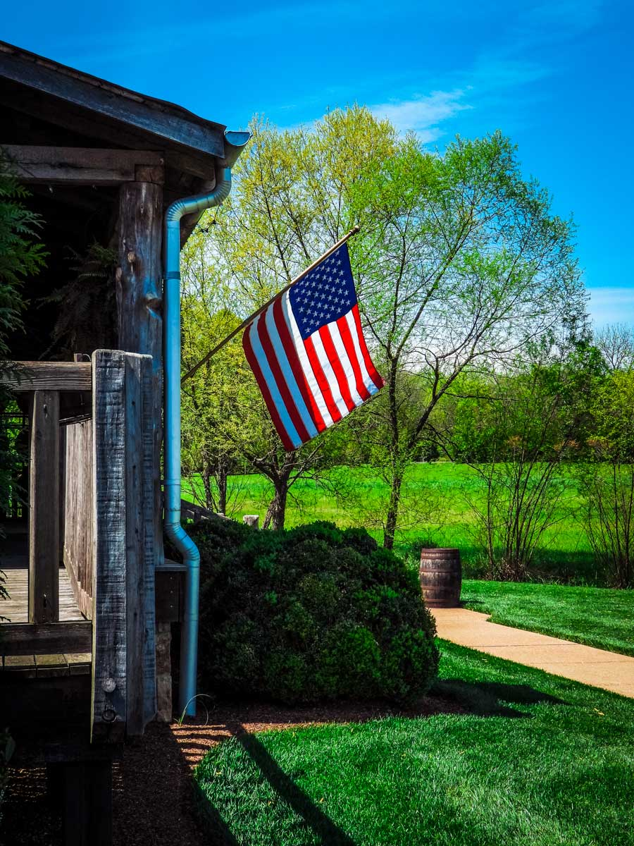 Leiper's Fork Distillery flag, one of many awesome things to do around Franklin, TN