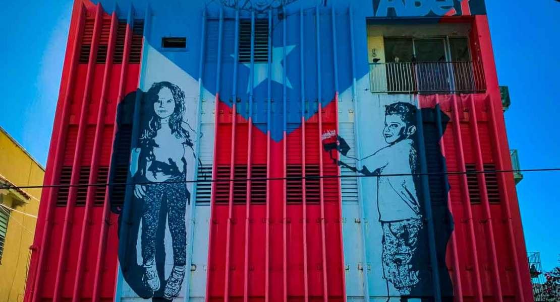 santurce street art depicting the children of puerto rico