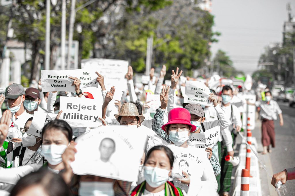 Campuses in Action: Myanmar's Academia Resisting against the Coup