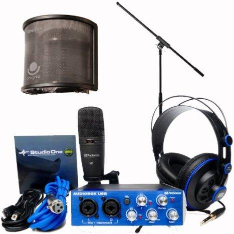 PrеSоnuѕ AudioBox Studiо Audiо Rесоrding Intеrfасе Bundlе