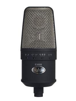 CAD Audio Equitek E300S Large Diaphragm Multi-Pattern Condenser Microphone