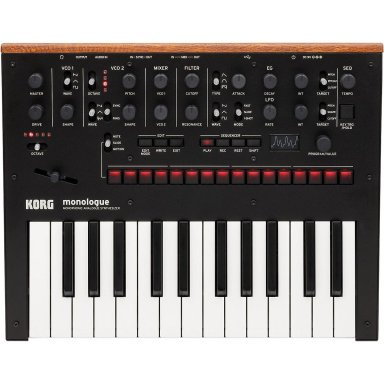 Korg Monologue Monophonic Analog Synthesizer with Presets