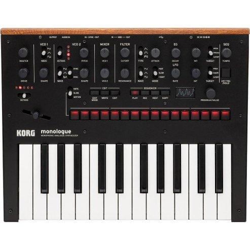 Korg Monologue Monophonic Analog Synthesizer with Presets