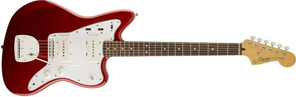 Squier by Fender Vintage Modified Jazzmaster, Rosewood Fretboard - Candy Apple Red