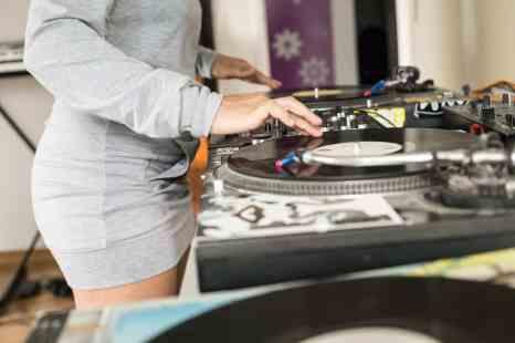 digital vinyl system - DJ setup
