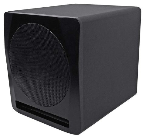 Rockville Apm10b 10 400W Powered:Active Studio Subwoofer Pro Reference Sub