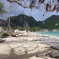 Destruction on Ko Phi Phi