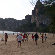 Afternoons on Railay Beach