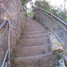 Dreaded staircase of the Blue Mountains, 900+ steps