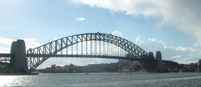 Gorgeous views of the Sydney Harbour Bridge