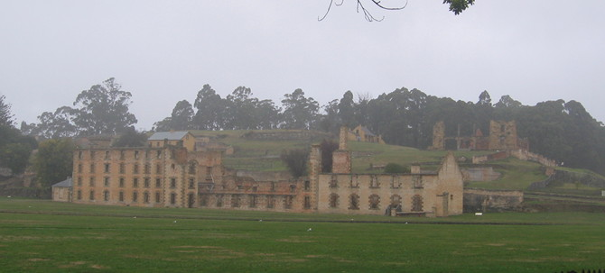 Port Arthur: Ghostly and dreary