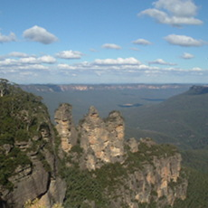 Three Sisters at the Blue Mountains