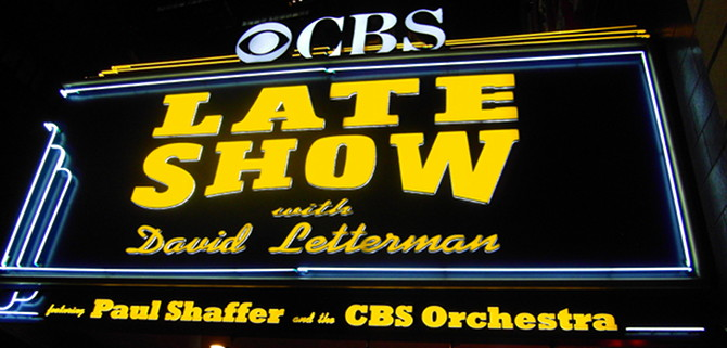 We tried to meet some famous faces outside of the CBS Studios.