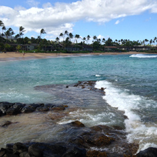 Beautiful reefs at Napili Bay, Maui