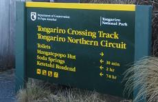 Tongariro trailhead