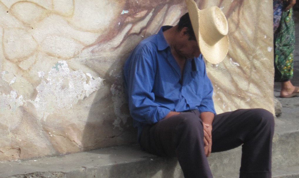 Getting stuck in San Pedro la Laguna, Guatemala