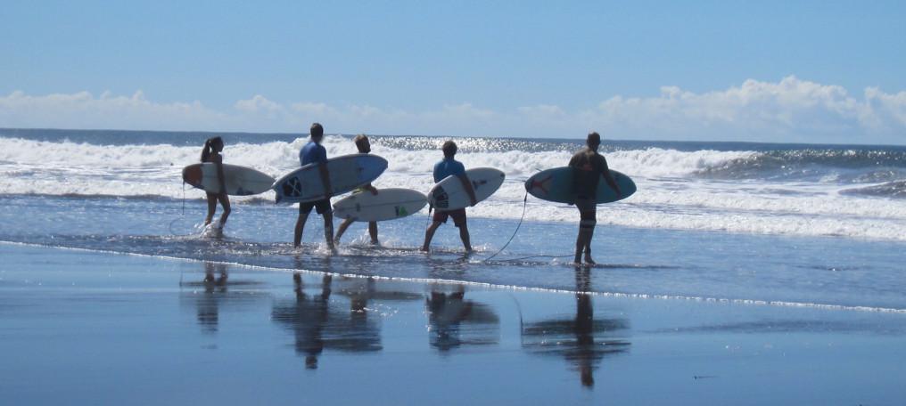 El Salvador's beaches
