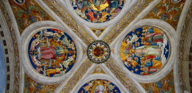 vaticanmuseumceilingB