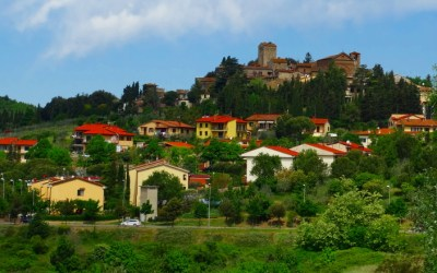 The hill towns of Tuscany