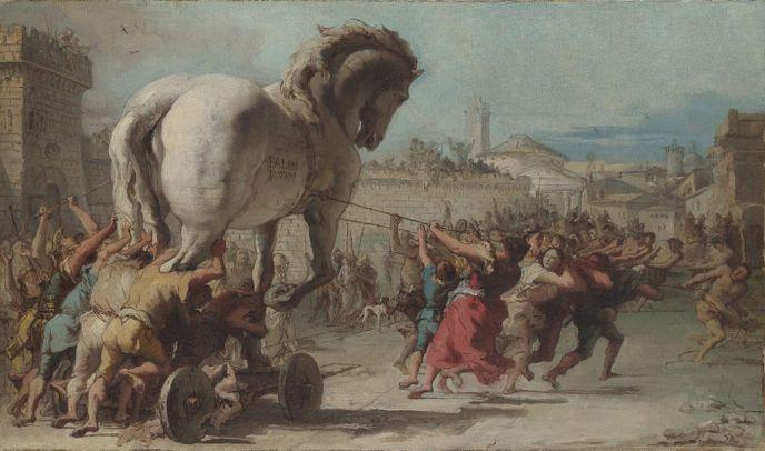 Giovanni_Domenico_Tiepolo_-_The_Procession_of_the_Trojan_Horse_in_Troy_-_WGA22382
