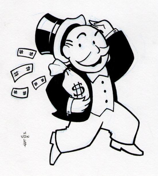 Monopoly Clip Art 18461