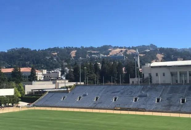 カリフォルニア大学バークレー校のフィールド。