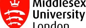 Middlesex University London banner logo