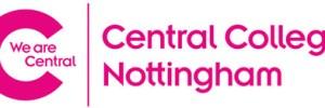 Central College Nottingham banner logo
