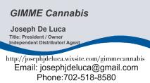 Gimme Cannabis Cardfrnt