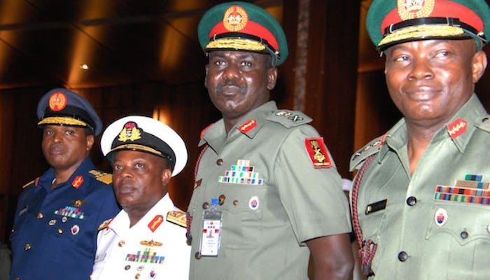 Army Chiefs