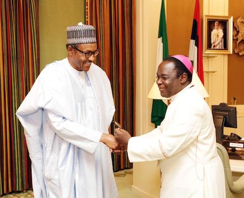 Bishop Kukah and Buhari