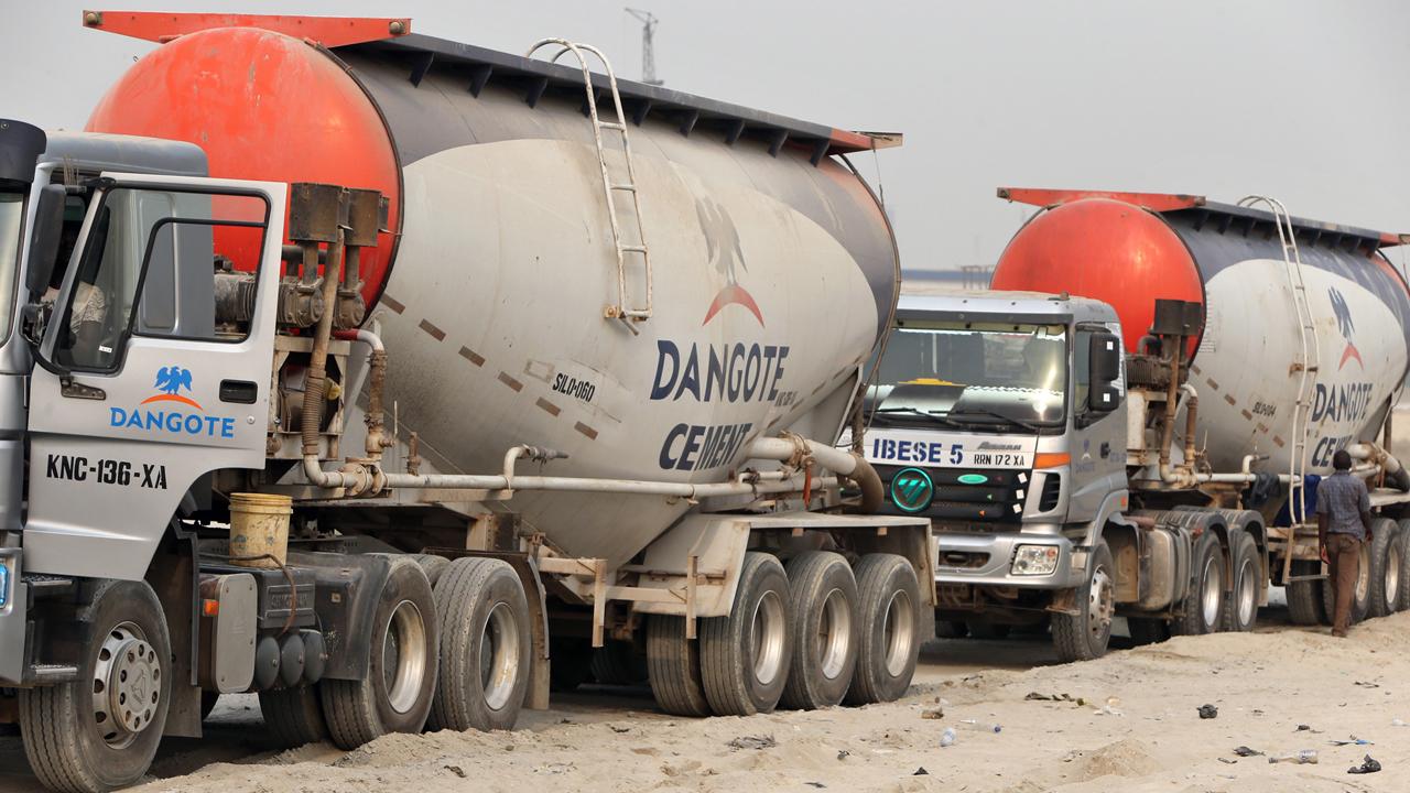 Dangote Cement Truck